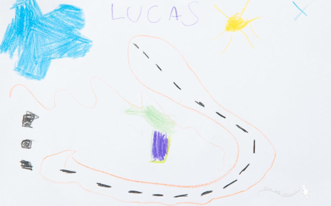 dessin de Lucas